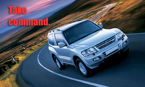 pajero 03 take command 2